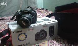 A new canon 1200d dslr is waiting there for u with