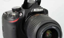 Dslr Nikon d3200 with 18-55lens good condition and good