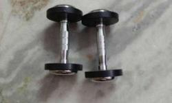 Dumbbells 5 kg each.1 month old