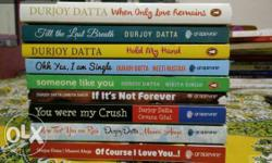 Durjoy dutta books collection