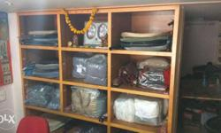 - good display of clothes or other products - storage