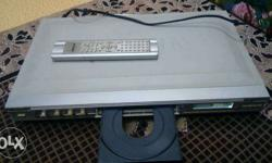 Dvd player in good wotking condition supports all type