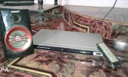 Dvd Player, Remote And Speaker