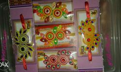 ECO-FRIENDLY COLOURFUL RAKHI Differnt colours are