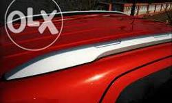 Ecosport roof rails. Comes in black and silver colour.