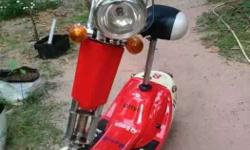 ELECTRIC scooter gud condition battery pakka