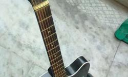 Guitar with bag n pegs also