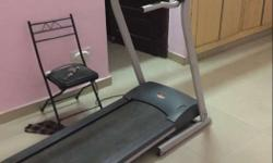 electronic treadmill in good condition