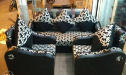 Available sofa set 3+2= 5 seater.