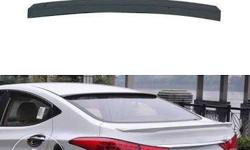 Elentra Fluidic lip and roof spoiler.headlights tail