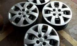 elite i20 14 inch rim with wheel cap orginal