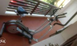 Elliptical cross trainer in good condition with less