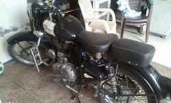 Enfield 500 cc black chd reg. Third owner .dealers and