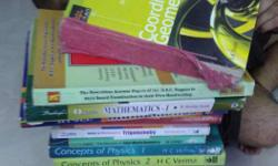Enough books to crack IIT-JEE 1) H C Verma 1&2 2) P