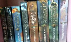 Entire Percy Jackson,Heroes of Olympus Series along