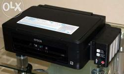 A Good Condition Epson L210 Printer with Full ink &