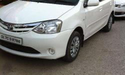 etios 2012 model certified car with services records