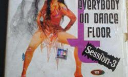 EVERYBODY on dance floor session 3 original video disc