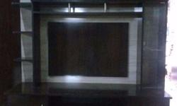 nice design and strong wood led tv unit with drawer &