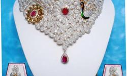 PRODUCT DECERIPTION:- NECKLACE IS MADE UP OF SILVER
