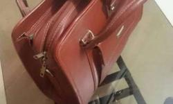Executive Leather bag made for Air Force Commandos.