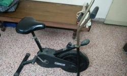 Exercise cycle in good condition.
