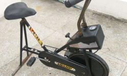 Exercise cycle Stationary Adjustable effort/ speed