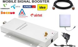 A mobile phone signal repeater provides the ultimate