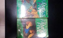 Famous Five books A set of 4 books just for rs.100.