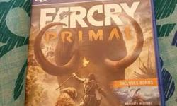 Far cry primal,can also be exchanged