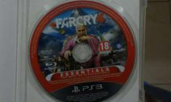 FARCRY 4 PS3 CD With Case