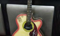Fendar Acoustic guitar with brand new D ADDARIO