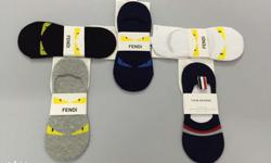 *FENDI*imported branded loafer socks!!! 5 colours