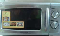 Few months rarely used Videocon microoven in mint just
