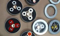 Seven Pieces Of Fidget Hand Spinners