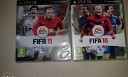Fifa 11 And 10 Ps3 Game Cases