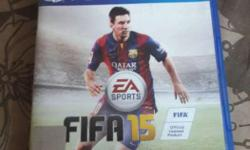 Fifa 15 For ps4 No scratch...