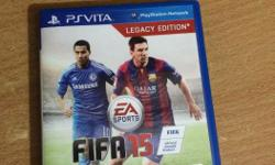 Scratchless 1 month old fifa 15 fr ps vita