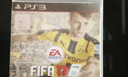 Fifa 17 ps3, one month old selling it as i upgraded to
