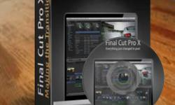 Used Final Cut Pro X Full Software and Complte Training