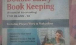 Financial Accounting book for class 11 CBSE of S.chand