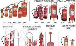 fire extinguisher new one or refilling we are doing in