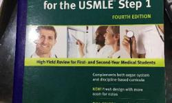 USMLE STEP 1 Kaplan notes and first aid for Sale in Thane
