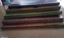 Five Assorted Educational Books