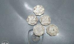 Five Round Silver Coins