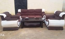 Brand new Sofa Set in solid quality
