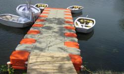 FloatingWalkway- can be Used for ganesh visarjan.