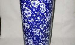Floral vintage porcline flower vase in excellent