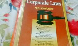 Business & Corporate Laws by N.D.Kapoor , specially for