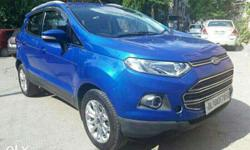 Ecosport Titanium Ecoboost well maintained car price is
